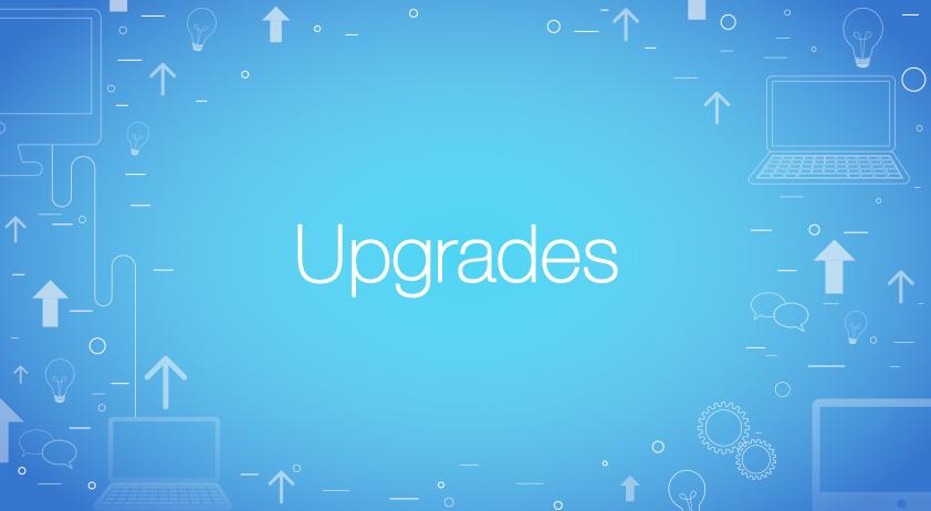 invate upgrade